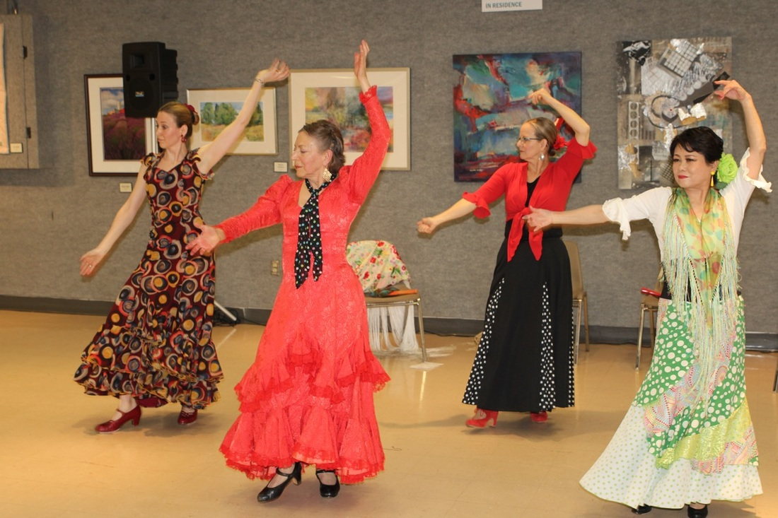 Flamenco Dance Classes Michelle Millman